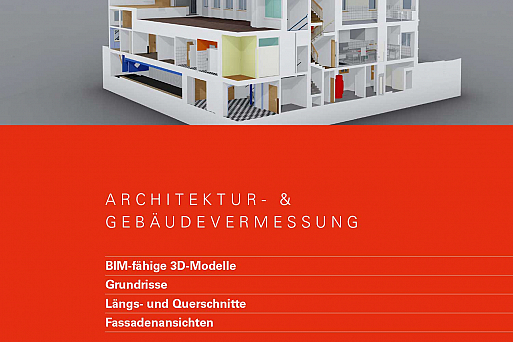 Top of Switzerland, Architektur- und Gebäudevermessung, HMQ AG